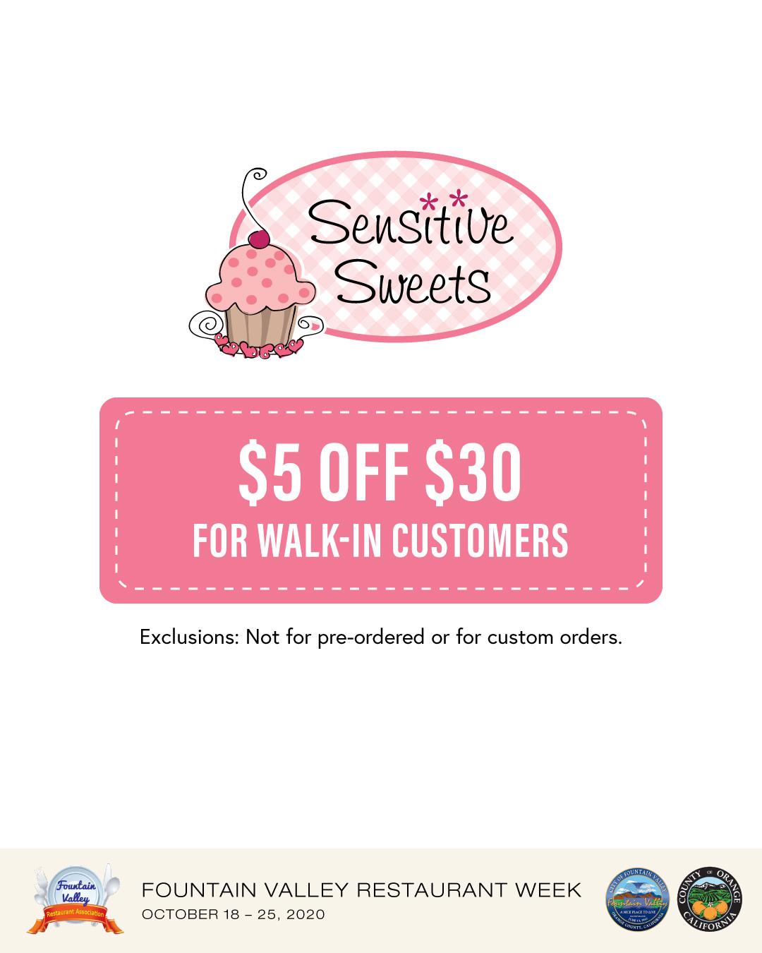 Sensitive Sweets